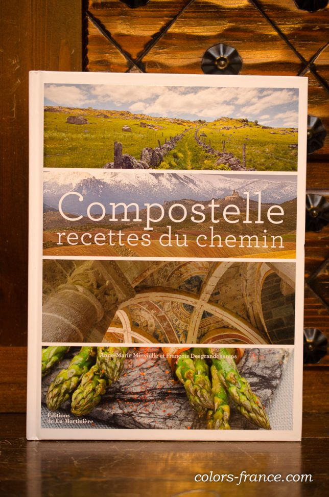 compostelle recettes du chemin コンポステーラ巡礼の旅 写真集 レシピ集の本